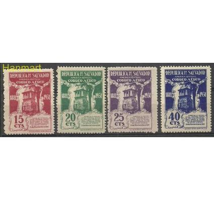 Znaczek Salwador 1931 Mi 459-462 Z podlepką *