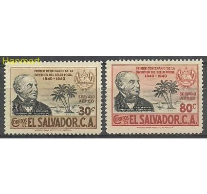 Znaczek Salwador 1940 Mi 576-577 Z podlepką *