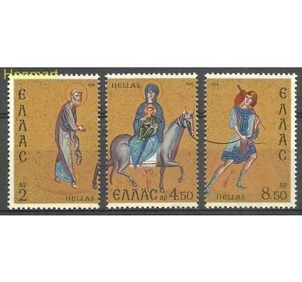 Znaczek Grecja 1974 Mi 1177-1179 Czyste **
