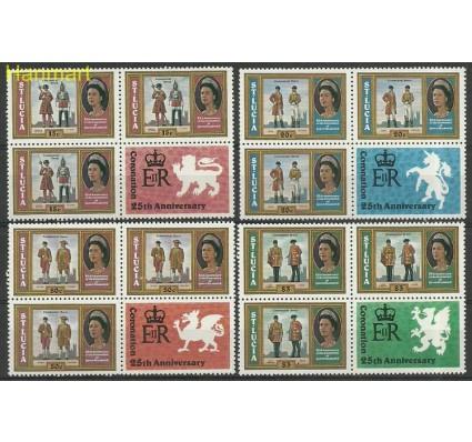 Znaczek Saint Lucia 1979 Mi 436-439C Czyste **