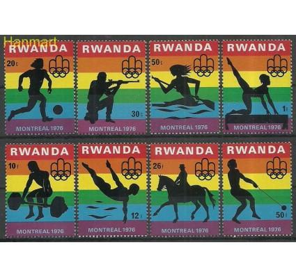 Znaczek Rwanda 1976 Mi 823-830 Czyste **