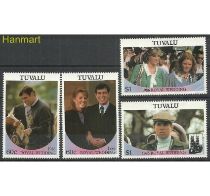 Znaczek Tuvalu 1986 Mi 377-380 Czyste **