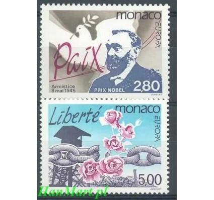 Monako 1995 Mi 2230-2231 Czyste **