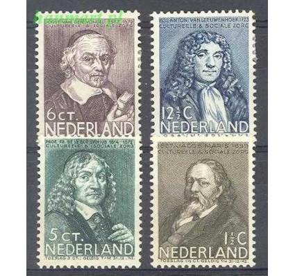 Holandia 1937 Mi 304-307 Z podlepką *