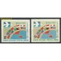 Filipiny 1977 Mi 1189-1190 Czyste **
