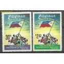 Filipiny 1977 Mi 1203-1204 Czyste **