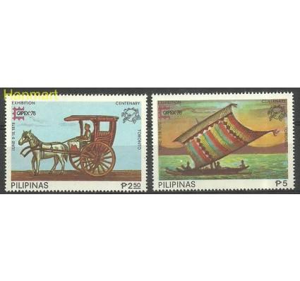 Znaczek Filipiny 1978 Mi 1222-1223 Czyste **