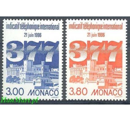 Monako 1996 Mi 2300-2301 Czyste **