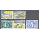 Holandia 1949 Mi 516-520 Z podlepką *