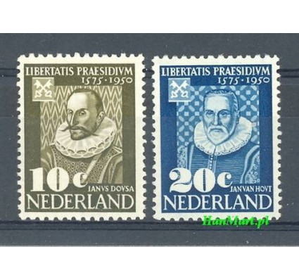 Holandia 1950 Z podlepką *
