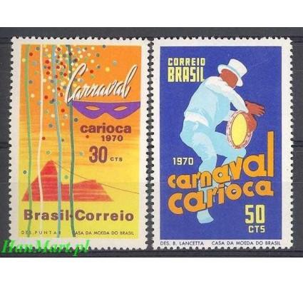 Brazylia 1970 Mi 1247-1248 Czyste **