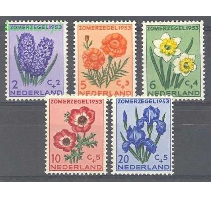 Znaczek Holandia 1953 Mi 607-611 Z podlepką *