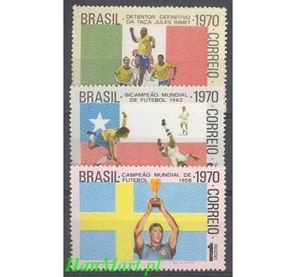 Brazylia 1970 Mi 1262-1264 Czyste **