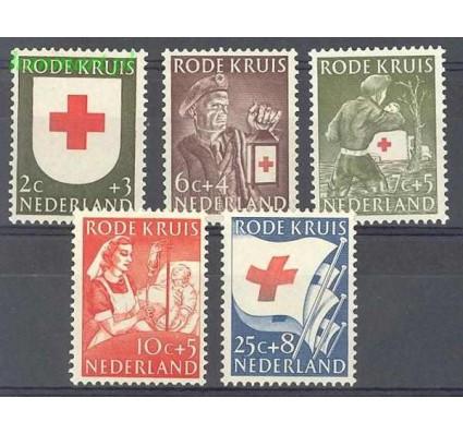 Znaczek Holandia 1953 Mi 615-619 Z podlepką *