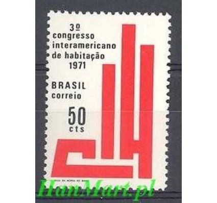Brazylia 1971 Mi 1277 Czyste **