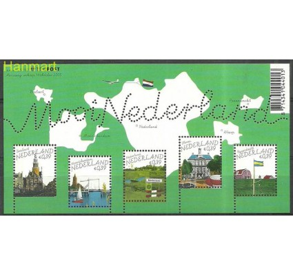 Znaczek Holandia 2005 Mi bl 92 Czyste **