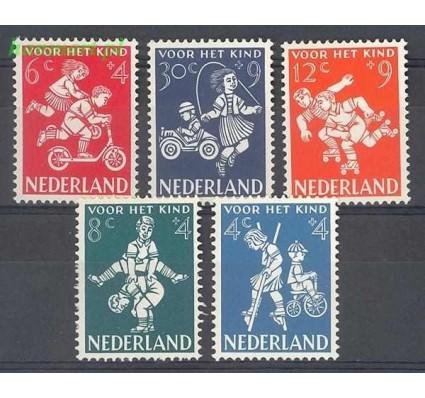 Holandia 1958 Mi 723-727 Z podlepką *