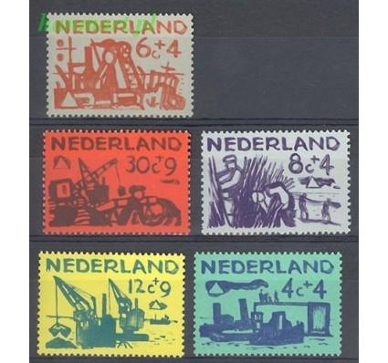 Holandia 1959 Mi 730-734 Z podlepką *