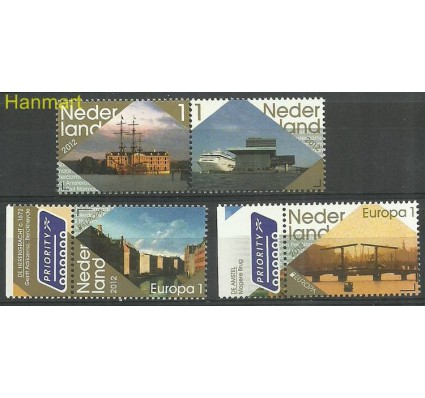 Znaczek Holandia 2012 Mi 2954-2957 Czyste **