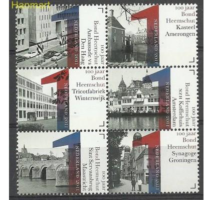 Znaczek Holandia 2011 Mi 2887-2892 Czyste **