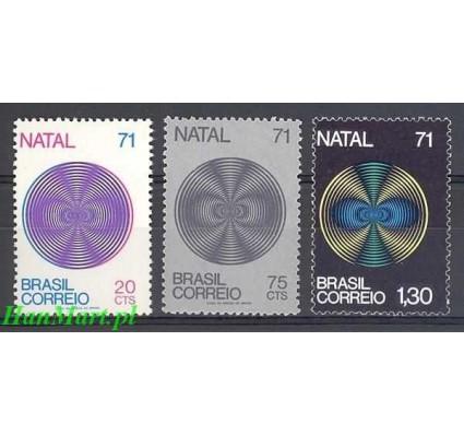 Znaczek Brazylia 1971 Mi 1301-1303 Czyste **