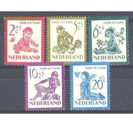 Holandia 1950 Mi 565-569 Z podlepką *
