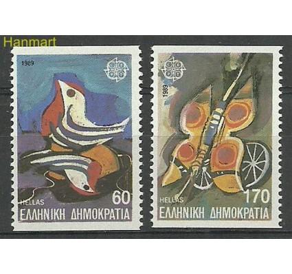 Znaczek Grecja 1989 Mi 1721-1722D Czyste **