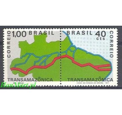 Brazylia 1971 Mi 1283-1284 Czyste **