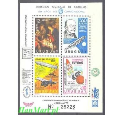 Znaczek Urugwaj 1977 Mi bl 33 Czyste **