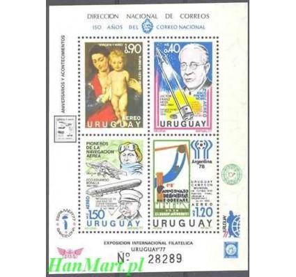 Urugwaj 1977 Mi bl 34 Czyste **