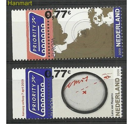 Znaczek Holandia 2009 Mi 2651-2652 Czyste **