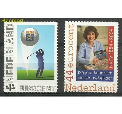 Znaczek Holandia 2009 Mi 2647-2648 Czyste **