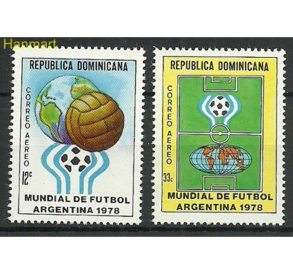 Znaczek Dominikana 1978 Mi 1191-1192 Czyste **