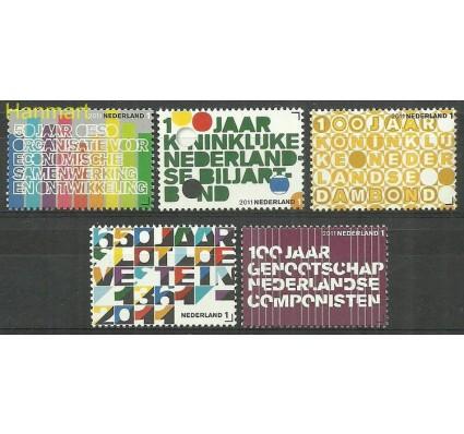 Znaczek Holandia 2011 Mi 2854-2858 Czyste **