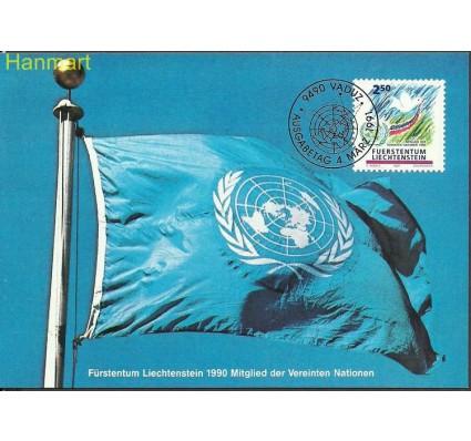 Znaczek Liechtenstein 1991 Mi 1015 Karta Max