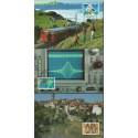 Szwajcaria 1989 Mi 1397-1401 Karta Max