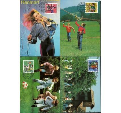 Znaczek Szwajcaria 1990 Mi 1431-1434 Karta Max