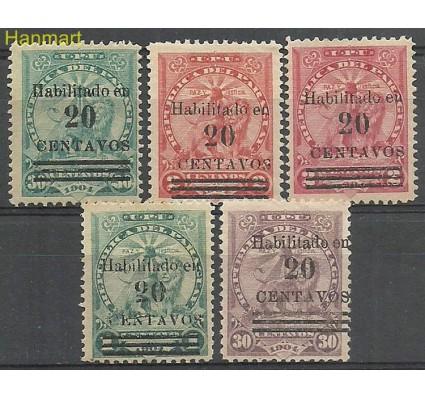 Znaczek Paragwaj 1908 Mi 151-152 Z podlepką *