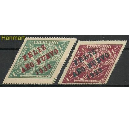 Znaczek Paragwaj 1931 Mi 396-397 Z podlepką *