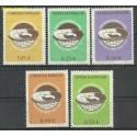 Paragwaj 1962 Mi 1064-1068 Z podlepką *