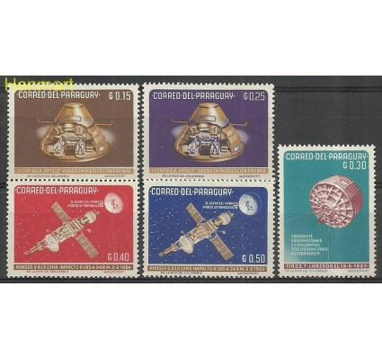 Znaczek Paragwaj 1964 Mi 1311-1315 Z podlepką *