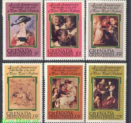 Grenada i Grenadyny 1978 Mi 278-283 Czyste **