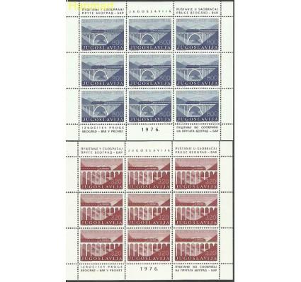 Znaczek Jugosławia 1976 Mi ark 1638-1639 Czyste **