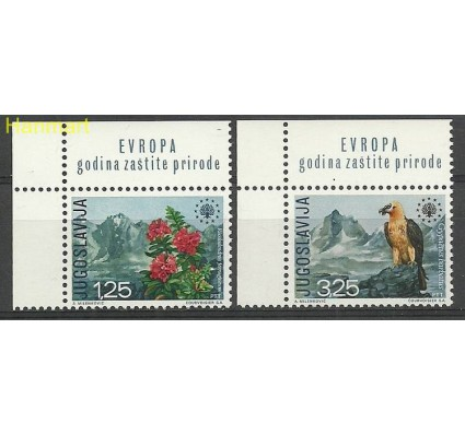 Znaczek Jugosławia 1970 Mi 1406-1407 Czyste **