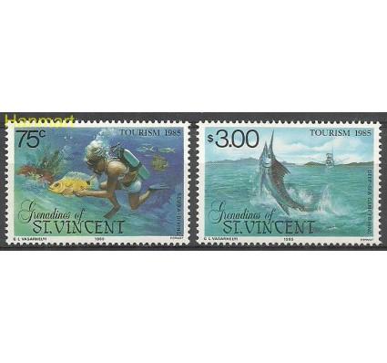 Znaczek Grenadines of St Vincent 1985 Mi 399-400 Czyste **