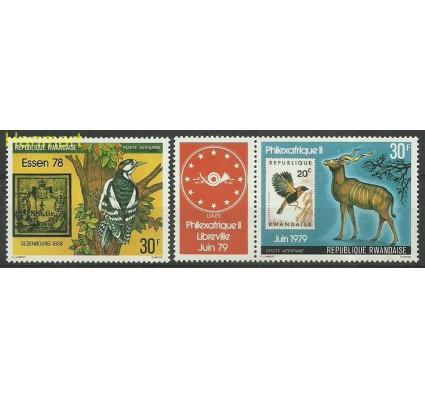 Znaczek Rwanda 1978 Mi zf961-962 Czyste **