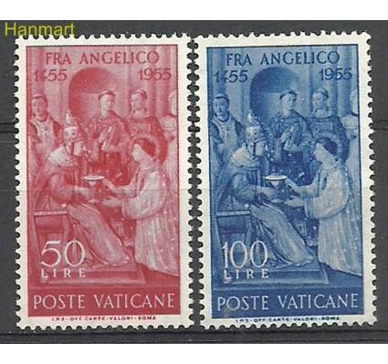 Znaczek Watykan 1955 Mi 233-234 Z podlepką *