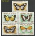 Togo 1982 Mi 1607-1611 Czyste **