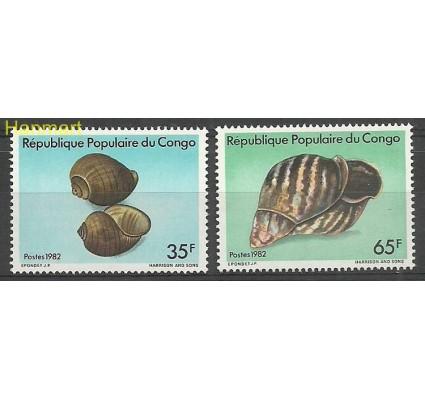 Znaczek Kongo 1982 Mi 901-902 Czyste **