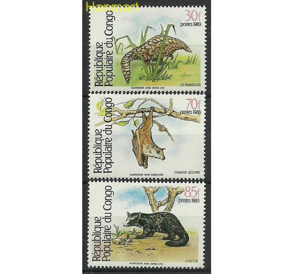 Kongo 1983 Mi A930-C930 Czyste **